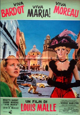 Viva Maria! - Poster Italie