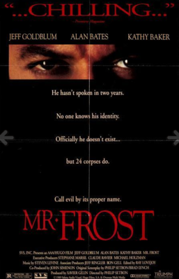 Mister Frost - Poster - USA