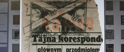 Because I Was a Painter - © Joseph Richter, Copie informatique d'un dessin clandestin à la Ghetto Fighter's House – qui possède l'une des plus vaste collection d'œuvres issues des camps nazis. Jour2Fête
