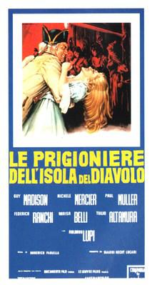 Women on Devil's Island - Poster Italie