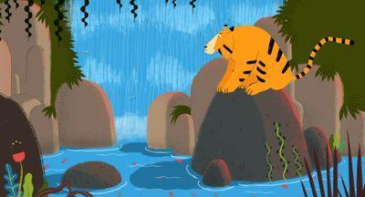 Le Tigre et son maître