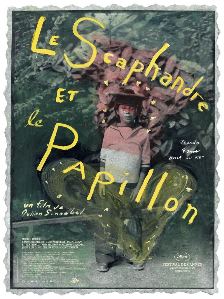 Jean-Dominique Bauby - Affiche - France