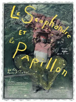 La Escafandra y la mariposa - Affiche - France
