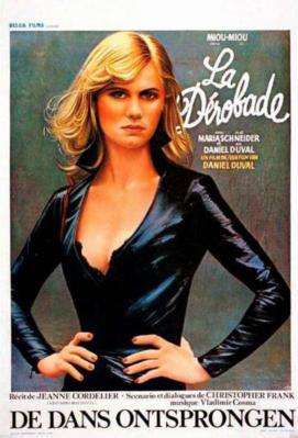 La Dérobade - Poster Belgique