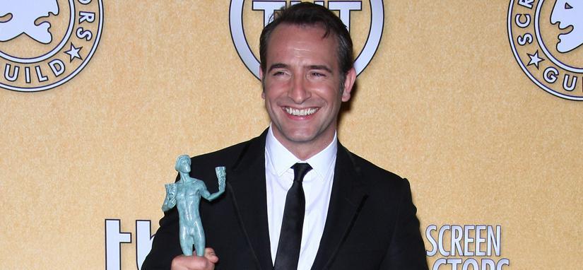 ミシェル・アザナヴィシウスおよびジャン・デュジャルダン全米映画俳優協会賞を受賞