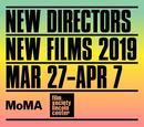 ニューヨーク New Directors New Films - 2019