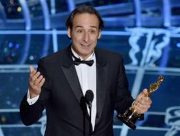 Alexandre Desplat wins his first Oscar!