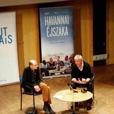 Laurent Cantet in Budapest for the 5th Francophone Film Days - La master-class de Laurent Cantet