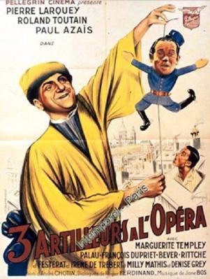 Trois artilleurs à l'opéra