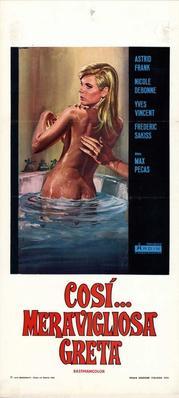 Claude et Greta (Les liaisons particulières) - Poster Italie