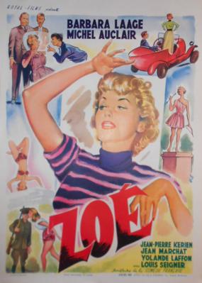 Zoé - Poster - Belgique