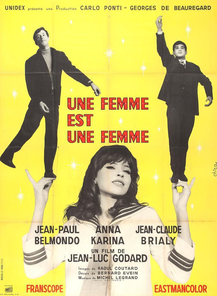 A Woman Is A Woman De Jean Luc Godard 1961 Unifrance