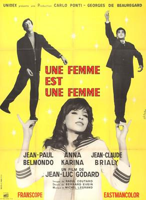 A Woman Is a Woman - Poster France