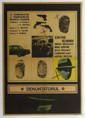 Le Doulos - Poster Roumanie