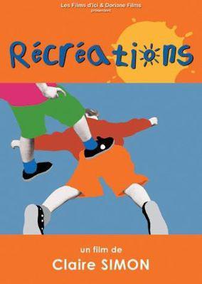 Récréations - Jaquette DVD