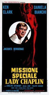 Special Mission Lady Chaplin - Poster - Italy