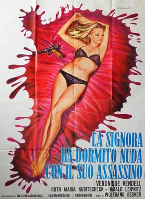 Je couche avec mon assassin - Poster - Italy