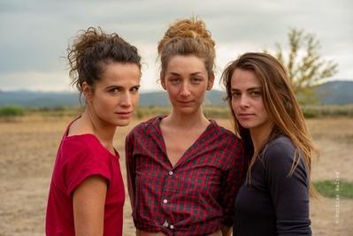 Léa - De gauche à droite : Anne-Laure Gruet - Audrey Le Bihan - Florence Bigot