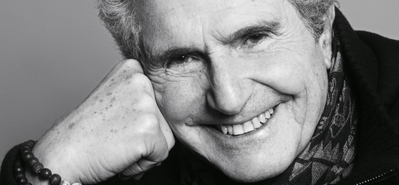 """Keeping in Touch"": Claude Lelouch talks to Fabienne Bradfer (Belgium) - © Matias Indjic/UniFrance"