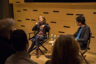 Rendez-Vous With French Cinema à New York - 2016 - Talk with Isabelle Huppert