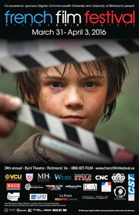 Festival du film français de Richmond - 2016