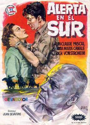 Alerta en el sur - Poster Espagne