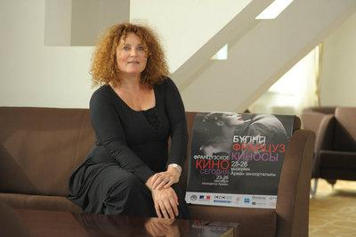 Report on the 1st Kazakhstan French Film Festival - Valérie Mairesse (actress)