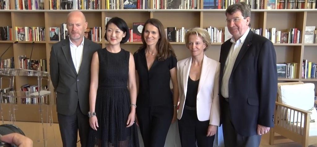 Two agreements to boost French cinema's presence abroad