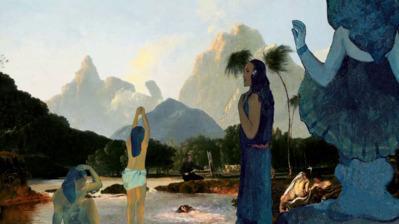 D'où venons-nous ? Qui sommes-nous ? Où allons-nous ? 1897, Paul Gauguin - © Les Poissons Volants
