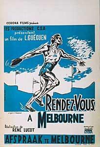 Rendez-vous à Melbourne - Poster Belgique