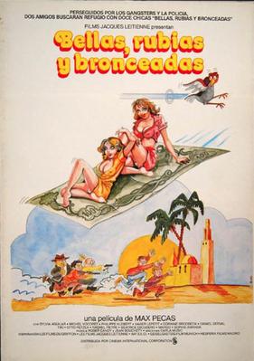 Belles, blondes et bronzées - Poster Espagne