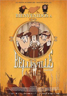 Les Triplettes de Belleville / ベルヴィル・ランデブー - Poster - Spain