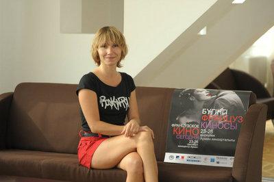 Report on the 1st Kazakhstan French Film Festival - Dinara Droukarova (actres)