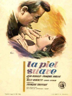 La Piel suave - Poster Espagne