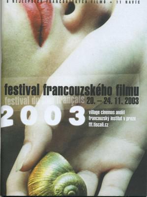 Festival de Cine Francés en la República Checa - 2003