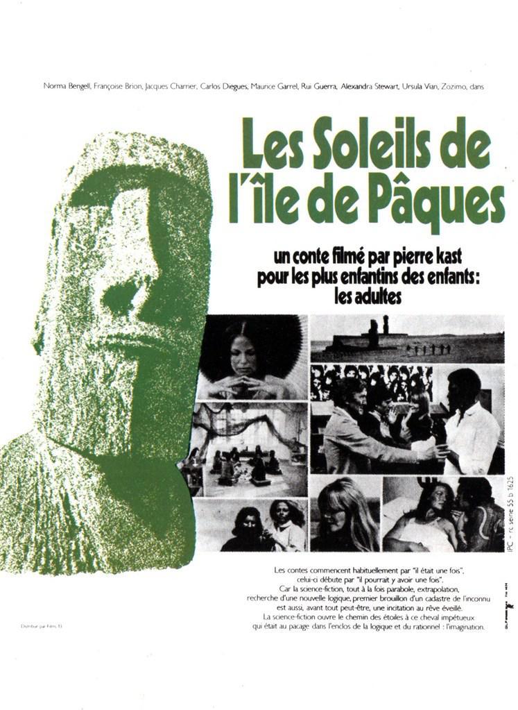 Les Soleils de l'île de Pâques - Poster France