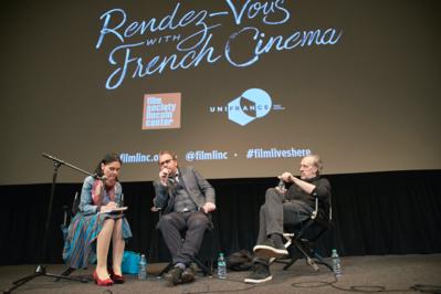 Exito histórico de la edición 2018 de los Rendez-Vous con el Cine Francés de Nueva York - Q&A Xavier Beauvois - © @Jean-Baptiste Le Mercier/UniFrance