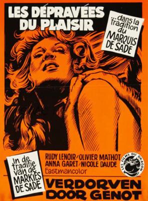 Les Dépravées du plaisir - Poster Belgique