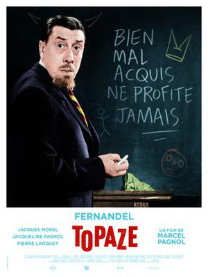 Topaze - Poster France rééidition 2016