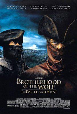 Le Pacte des loups - Poster États Unis