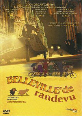 Les Triplettes de Belleville / ベルヴィル・ランデブー - Poster - Turkey