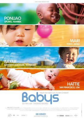 Bébés - Poster - Germany - © Kinowelt Filmverleih