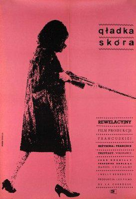 La Peau douce - Poster Pologne