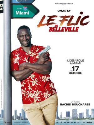 Belleville Cop - Affiche teaser