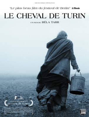 Le Cheval de Turin - Poster - France