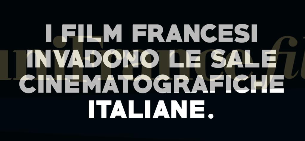 Le cinéma français envahit l'Italie