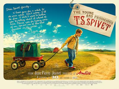 The Young and Prodigious T.S. Spivet - Poster - United Kingdom