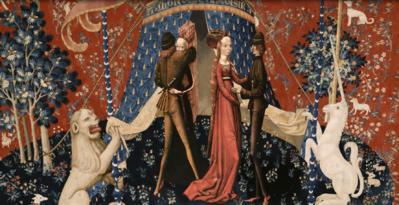 La Dame à la Licorne, vers 1500, anonyme - © Les Poissons Volants