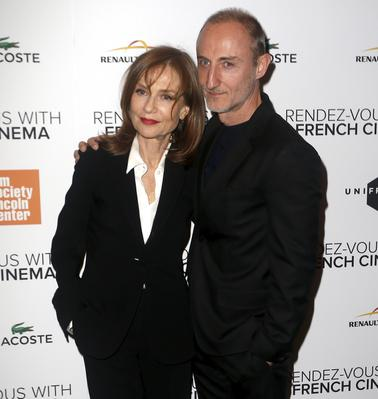 Rendez-Vous With French Cinema en Nueva York - 2016 - Isabelle Huppert & Guillaume Nicloux