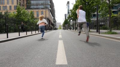 Courir, courir encore